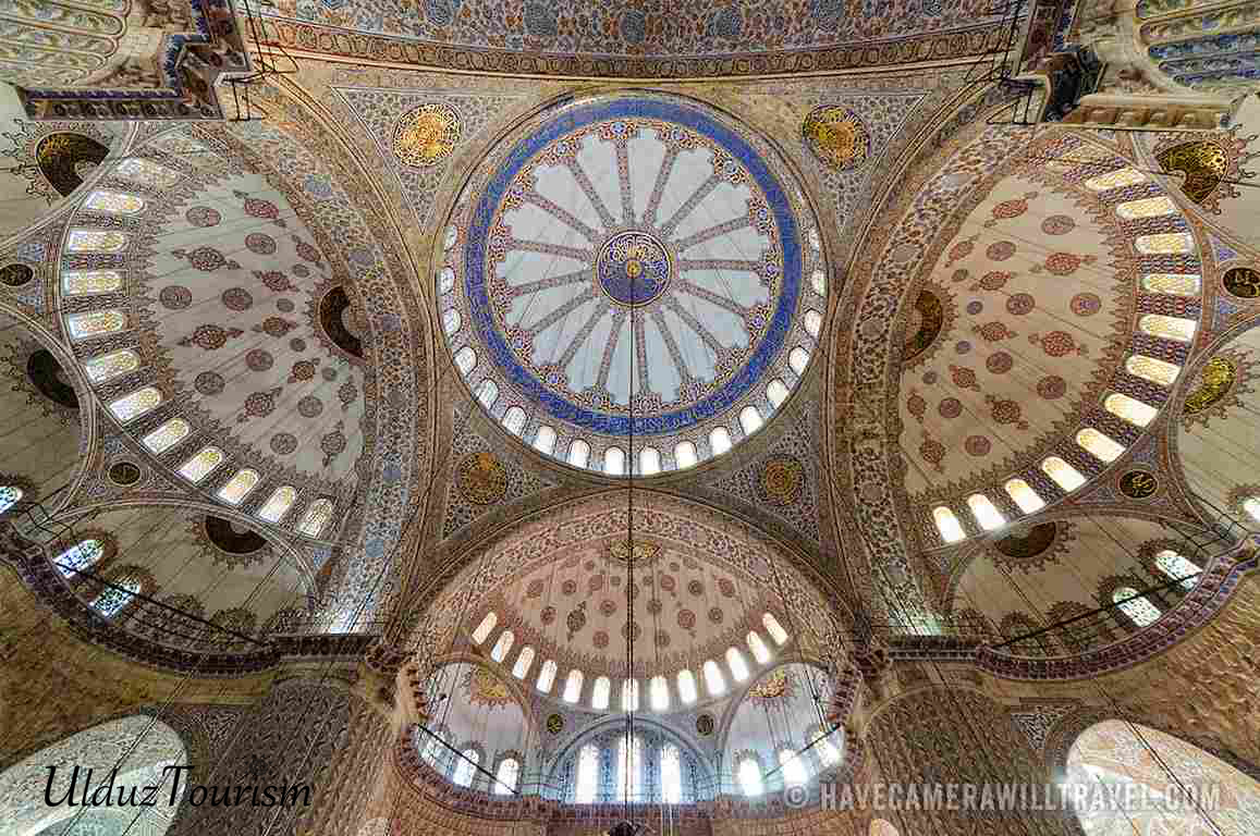Ceiling of Blue Mosque Sultan Ahmed Mosque 3181114092737 Copy