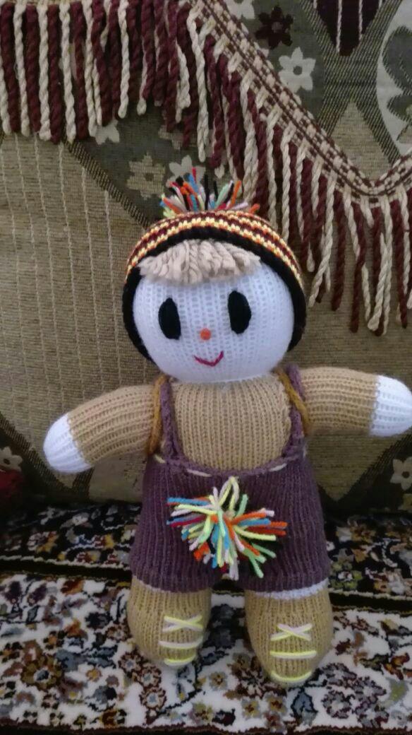 عروسک بافتنی 2